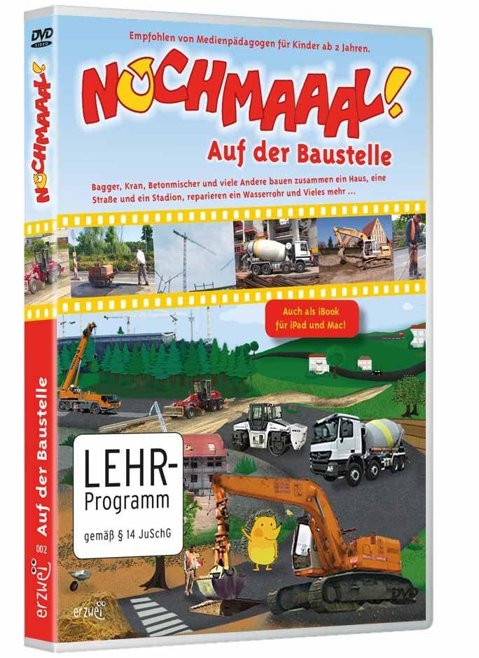 """Verpackung der DVD """"Auf der Baustelle"""" aus der Reihe """"Nochmaaal"""""""