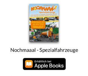iBooks Spezialfahrzeuge - für Kinder auf allen Apple Geräten.