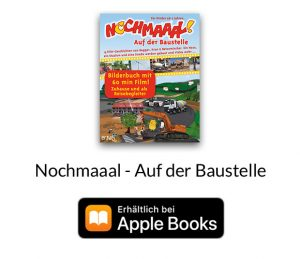 """iBooks """"Auf der Baustelle"""" für Apple Geräte für Kinder"""