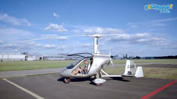 Nochmaaal - In der Luft - Gyrocopter