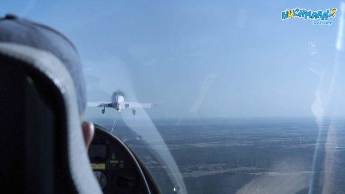 F-Schlepp auf dem Segelflugplatz