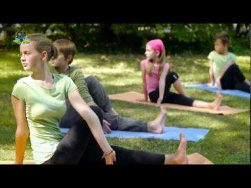 6 Yoga-Reihen Kinderyoga DVD Einführung